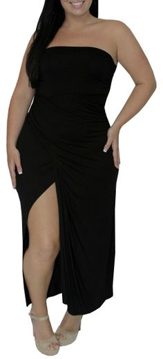 Elope (Plus/Black)-Great Glam is the web's best sexy plus size online store clothing website for 1X 2X and 3X clothes for women and juniors.