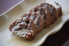 Cranberry Walnut Cinnamon Rolls flavored with Young Living's cinnamon bark, Christmas Spirit, and orange essential oils.
