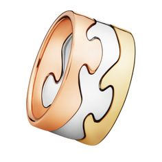 FUSION ring – build bold combinations with these sleek puzzle piece rings FUSION celebrates seamless collaboration among different elements to form a stunning ring inspired by nature. Danish design.