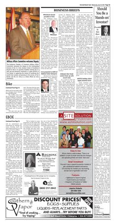 A Site Solution Page A5 - The Southeast Sun: Eedition
