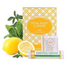 M'lis Total Body Cleanse 7 Days to a lifetime of benefits: The toxins surrounding you everyday don't care. They constantly attack your efforts to have beautiful skin, natural energy, a slimmer figure and most importantly confidence. In just seven days M'lis Total Body Cleanse pushes these toxins out. www.TomorrowsBody.com
