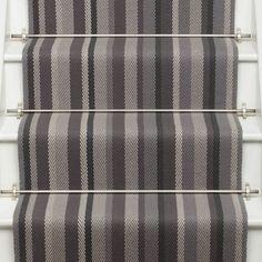Neutral and Black Runners - Roger Oates Design Carpet Runner, Rug Runner, Carpet Staircase, Rug Making, Kyoto, Traditional, Blanket, Bedroom, Luxury