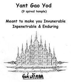 Gao Yod Sak Yant