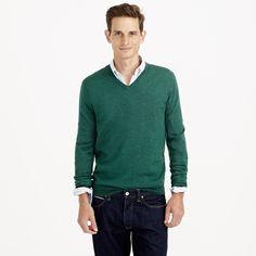 Slim merino wool V-neck sweater : merino | J.Crew