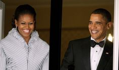 President Obama & Mrs. Obama at the Nobel Peace Prize Torchlight Procession 2009