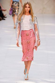 The Best Looks from London Fashion Week Spring 2014 - Burberry Prorsum