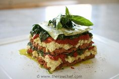 Raw food Lasagnehttp://therawchef.com/therawchefblog/lasagne-recipe