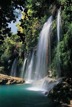 Antalya, Turkey - Kurşunlu Waterfall, Belek... Most romantic holiday with my bf in beautiful Antalya. We had a shower in that waterfall