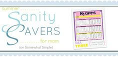 Printable chore charts for boys and girls!!  http://www.somewhatsimple.com/free-printable-chore-charts-for-kids/#