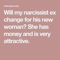 Narcissist husband and money