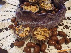 Karamelově - arašídové košíčky