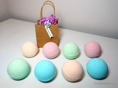My fabulous bath bomb recipe, with luscious oils and exfoliating Epsom salts for your skin and citric acid for that fabulous fizz.