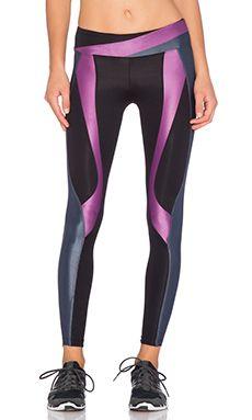 koral activewear Jin Surge Legging in Smoke & Iris