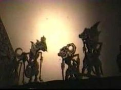 ▶ Indonesian Shadow Puppet Show - YouTube