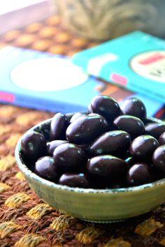 Dark Chocolate Covered Almonds | Vegan Chocolate | Gluten Free Recipes - The Healthy Apple