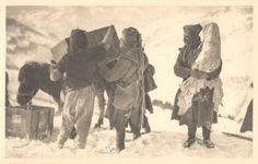 Srbija , 1915. albanska golgota , dete u narucju vojnika