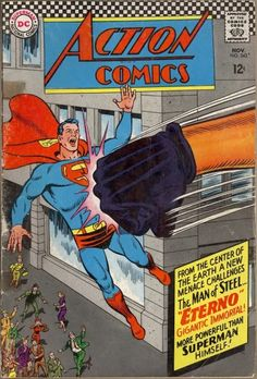 Seller of bronze and silver age Marvel DC comics Superman Comic, Superman Action Comics, Superman Family, Batman And Superman, Marvel Dc Comics, Fun Comics, Silver Age Comics, Beste Comics, Best Comic Books