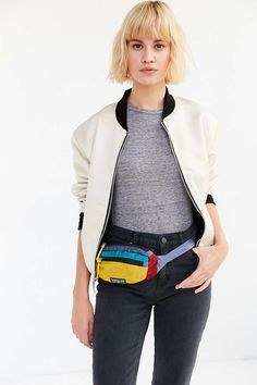 Waist Bag SRT-Dodge Challenger Logo Unisex Hip Pack Adjustable Belt