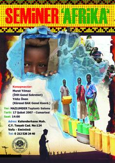 seminer afrika afişi