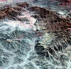 The Khyber Pass from space