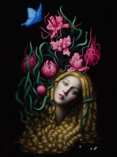 Chie Yoshii, between mythological tales and human psychology