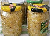Cuketové zelí,zavařené na zimu i jiné roční období Homemade Pickles, Home Canning, Chutney, Preserves, Cucumber, Food To Make, Frozen, Food And Drink, Smoothie