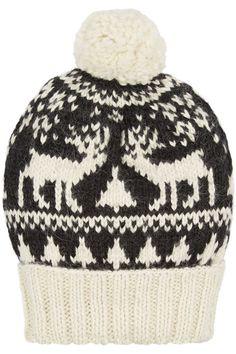 #Eugenia Kim|Noel patterned alpaca #beanie|NET-A-PORTER.COM #skistyle