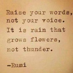Rumi Quote Typed on Typewriter and Framed The Words, View Quotes, Best Quotes, Life Advice, Good Advice, Change Quotes, Love Quotes, Flower Quotes Life, Gatsby Quotes