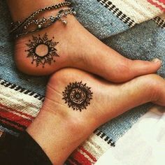 Have fun today and style your feet with a cool anklet to look awesome! Don't be afraid to be different, be afraid of being same as everyone else. Click to get your anklet >> #FeetTattoos #girltattoodesigns
