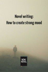 How to create a strong mood in your #NaNoWriMo novel. #writingtips