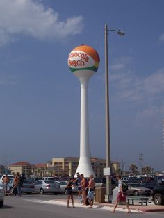 pensacola beach water tower, florida