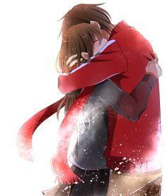 Ayano x shintaro Anime Love Couple, Manga Couple, Cute Anime Couples, Kawaii Anime Girl, Anime Art Girl, Anime Girls, Sad Anime, Manga Anime, Anime Demon