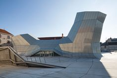 FRAC centre opens in new site by jakob + macfarlane / orleans, france