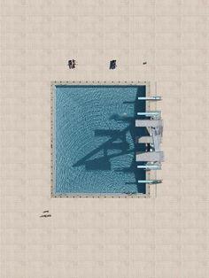 """""""Aerial Pools"""" Stephan Zirwes"""