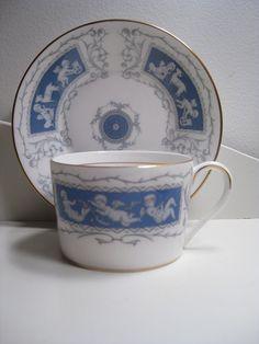 Coalport 'Revelry' tea cup and saucer
