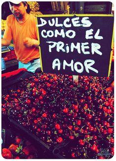 Dulces como el primer amor... #FruteroPoeta