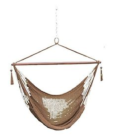 Phat Tommy Super Soft Hand Woven Hammock Chair Swing Mocha *** Detailed information can be found by clicking on the VISIT button
