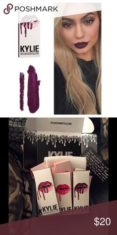 Kylie 👄 set kourt k Never opened or swatched Kylie lip set authentic Kylie Cosmetics Makeup Lipstick
