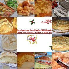 Raccolta di Pane Pizze e focacce senza glutine