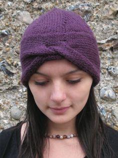 NobleKnits.com - Erika Knight Vintage Urban Turban Hat Knitting Pattern PDF, $5.95 (http://www.nobleknits.com/erika-knight-vintage-urban-turban-hat-knitting-pattern-pdf/)
