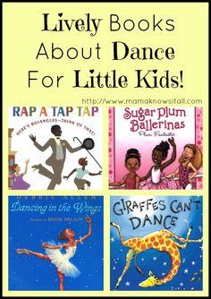 "For ""Music in featuring Dance Kaleidoscope"". Books About Dance For Little Kids Teach Dance, Dance Camp, Learn To Dance, Preschool Music, Preschool Books, Teaching Music, Dance Movement, Music And Movement, Toddler Books"