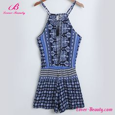 Summer blue floral print fashion girls short frocks dress #fashion_dress, #short