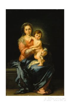 Madonna with Child Giclee Print by Bartolomé Estéban Murillo at AllPosters.com