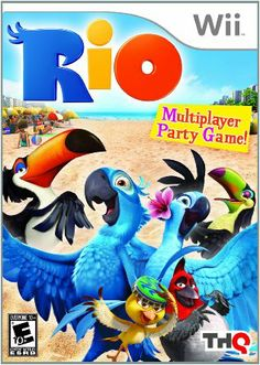 Shop Rio — PRE-OWNED Nintendo Wii at Best Buy. Find low everyday prices and buy online for delivery or in-store pick-up. Wii Games, Xbox 360 Games, Rio Party, Boys Online, Feature Film, New Friends, Party Games, Nintendo Wii, Playstation