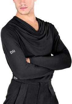 DSI Kai Mens Latin Shirt 4027 | Dancesport Fashion @ DanceShopper.com