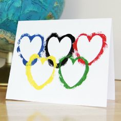 Whip up this easy Olympics-inspired Valentine for teachers or someone special!