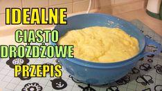 Przepis na IDEALNE ciasto drożdżowe Polish Recipes, Cake Cookies, Sweet Recipes, Mashed Potatoes, Bread, Ethnic Recipes, Food, Sissi, Youtube