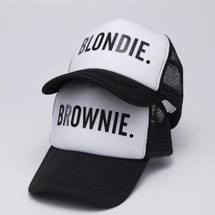 BLONDIE BROWNIE Trucker Vacation Hats