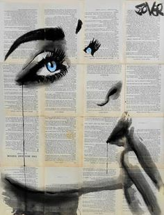 "Saatchi Art Artist Loui Jover; Drawing, ""never know again"" #art"