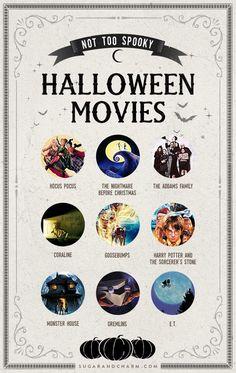 Charming Halloween Movie Night + Halloween Movies! - Sugar and Charm
